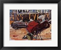 Framed Juguetes Mecnicos II