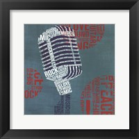 Framed Type Mic Square