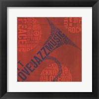 Framed Type Trumpet Square