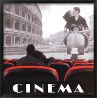 Framed Cinema Roma