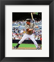Framed Chase Headley 2013 Action