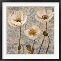 Framed Damask Blooms V