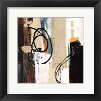 Framed Abstract Collage III