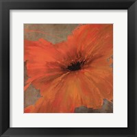 Colourful Flowers IV Framed Print