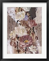 Floral Flair II Framed Print