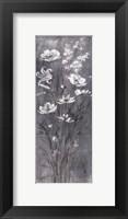 Framed Celadon Bouquet IV