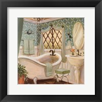 Framed Designer Bath II