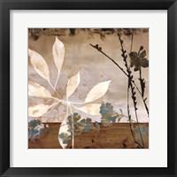 Framed Floralscape I