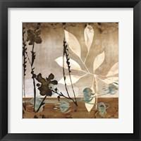 Framed Floralscape II