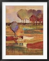 Bright Landscape I Framed Print