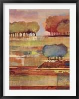 Framed Bright Landscape II