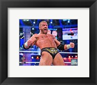 Framed Triple H Wrestlemania 29 Action