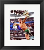 Framed Miz Wrestlemania 29 Action