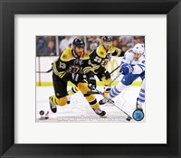 Framed Zdeno Chara 2012-13 Playoff Action