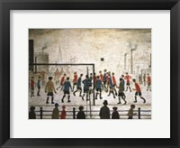 Framed Football Match