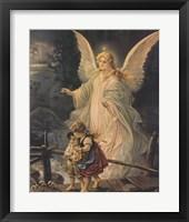 Framed Guardian Angel