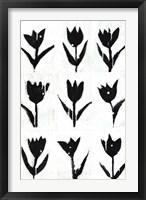 Framed Tulip Noir Composite