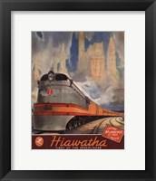 Hiawatha 1937 Framed Print
