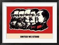 Framed United We Stand