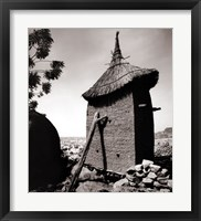 Framed Dogon Granary