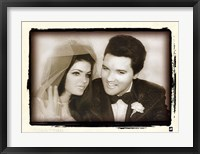 Framed Elvis Presley Weds, 1967