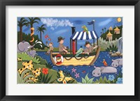 River Adventures Framed Print