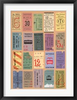 Framed Ticket to Ride