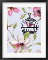 Bird Cage I Framed Print