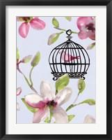 Framed Bird Cage I