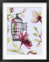 Framed Bird Cage II