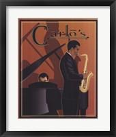 Carlo's Framed Print