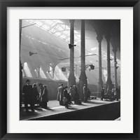 Framed Liverpool Street Station