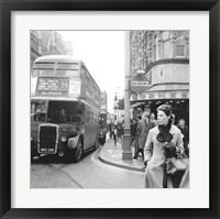 Framed Tottenham Court Road And Oxford Street Junction, 1965