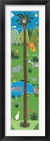 Jungle Growth Chart Framed Print