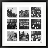 Framed Beatlemania Grips Gotham
