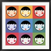Framed Colourful Smiles