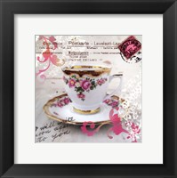 Morning Tea I Framed Print