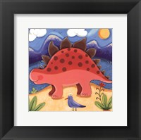 Framed Baby Steggy The Stegosaurus
