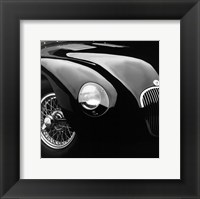 Framed Jaguar C-Type