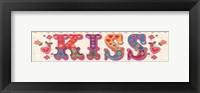 Framed First Kiss