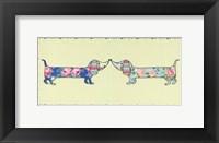 Framed Ditsy Dogs II