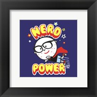 Framed Nerd Power