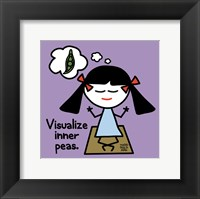 Framed Visualize Inner Peas