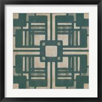 Deco Tile I Framed Print