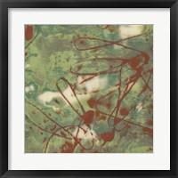 Kinetic Exclusion I Framed Print