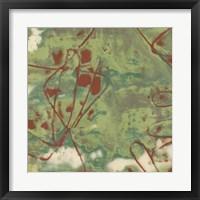 Kinetic Exclusion II Framed Print