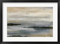 Framed Gray Mist I