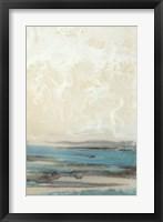 Framed Aqua Seascape II