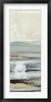 Framed Aqua Seascape III