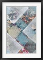 New Plaid I Framed Print